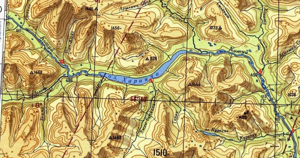 отчёт плато Путорана сплав Марина Галкина