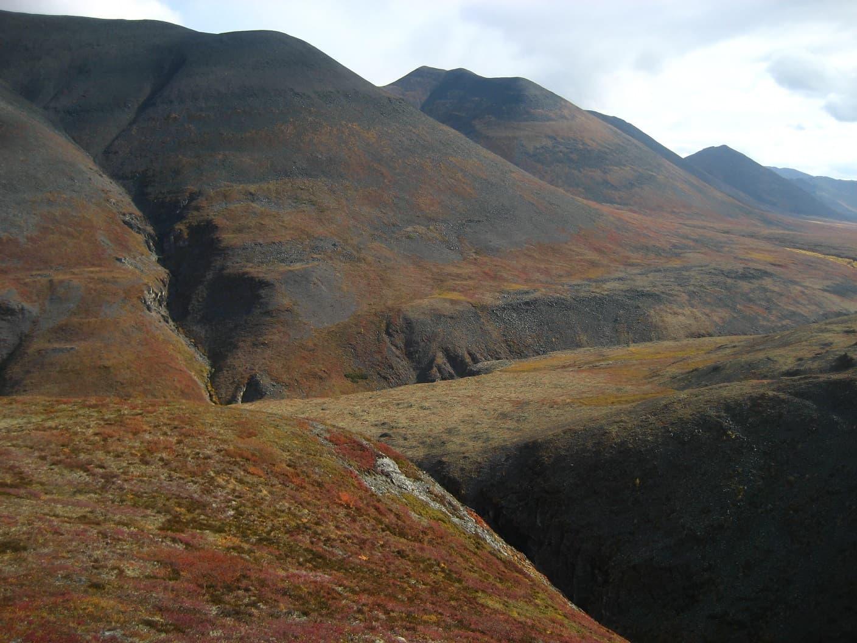 путь к озеру Лыбалах, Верхоянский хребет