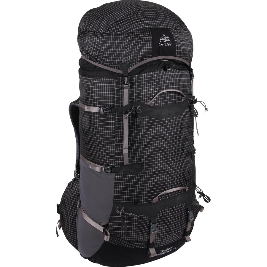 Купить рюкзак Сплав Gradient Experience 115 черный в Москве по цене 12 300 руб в интернет-магазине